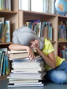 There is no place you can't nap with the Ostrich Pillow.