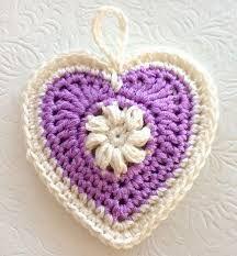 """Képtalálat a következőre: """"rosy heart crochet pattern"""""""