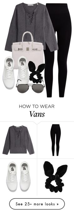 """Untitled #12051"" by vany-alvarado on Polyvore featuring Pepper & Mayne, Vince, Hermès, Vans, Topshop and Yves Saint Laurent"
