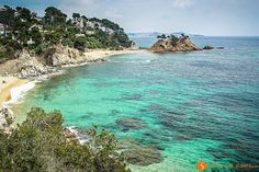 A photographic journey through 20 hidden places of the Costa Brava and its secret places. Hidden Places, Secret Places, Great Places, Places To See, Barcelona Spain Travel, Hidden Beach, Beach Town, Future Travel, Travel Aesthetic