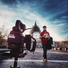 Behind the scenes from this week's Small Empires shoot in Washington, D.C.