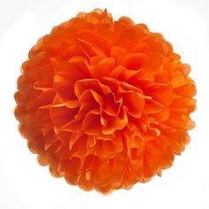 """Pompom  """"Juicy Orange"""",Wähle aus 4 verschiedenen Größen,wunderbar auf Hochzeiten, Partys, Geburtstag oder als Gartendekoration! von Pompompous auf Etsy https://www.etsy.com/de/listing/190443179/pompom-juicy-orangewahle-aus-4"""