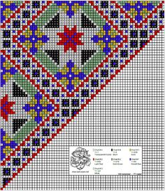 Bunad, Smykker, vev & rosemaling: Bunad Loom Patterns, Beading Patterns, Cross Stitch Rose, Peyote Stitch, Beaded Earrings, Scandinavian, Projects To Try, Textiles, Embroidery