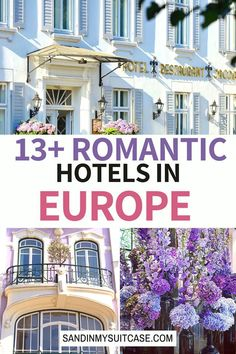 Looking for the most romantic hotels in Europe? See our reviews of romantic hotels in Greece, romantic hotels in Germany, romantic hotels in Spain and other romantic European hotels Romantic Destinations, Europe Destinations, Romantic Travel, Packing List For Travel, Europe Travel Guide, Travel Guides, Most Romantic Places, Beautiful Places To Visit, Travelling Europe