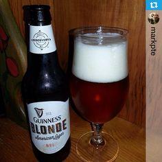 Guinness Blonde American Lager. Great taste.