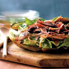 Warm Portobello Salad