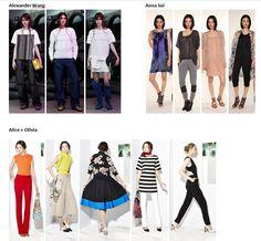 Preview Spring Summer 2015 apparel, shoes and make up by Alexander Wang,Anna Sui, Alice + Olivia ----- pre-collezione moda trend Primavera Estate 2015 abbigliamento scarpe accessori e trucco