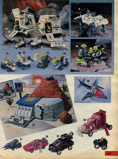 Sears Wishbook: Wheeled Warriors and M.A.S.K.