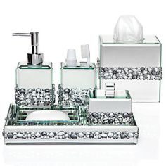 Ricci Vanity Collection - Vanity Set & Boutique Box   Bathroom Accessories   Z Gallerie