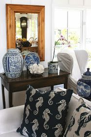 ciao! newport beach: a blue and white cottage