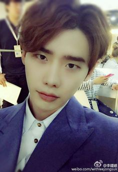 Jongsuk - 150909 Samsung Shila Duty Free Events cr.Jongsuk Weibo Update