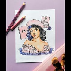 Notebook Drawing, Melanie Martinez, Cry Baby, Babe, Princess Zelda, Fan Art, Portrait, Drawings, Artwork