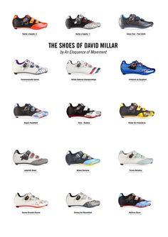 ........The shoes of David Millar, 2014!