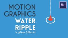 Here's a tutorial on flat design water effects in AE. Could be useful perhaps. Thanks for watching! Subscribe: TipTut: https://www.youtube.com/c/tiptut LinkT...