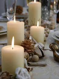 christmas candle centerpiece ideas - Google Search