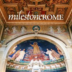"""New article on Milestone Rome: """"Basilica dei Santi Cosma e Damiano: medieval treasures of a church bloomed in the Roman Forum"""". Let us know your thoughts in the comments!  If you wish to keep updated about the next articles publication and project developments, feel free to subscribe to our monthly newsletter. #MilestoneRome #Rome"""