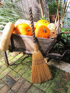 Old witchy broom for sale.....starts at $19.99!