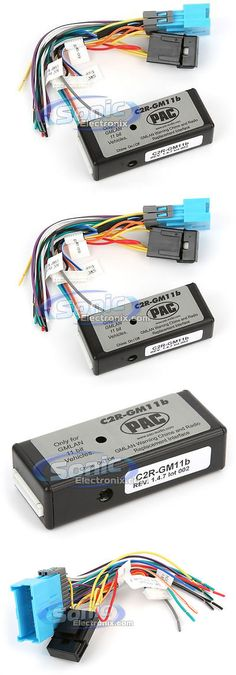 wire harnesses pac rp5gm31 radio replacement interface w onstar rh pinterest com