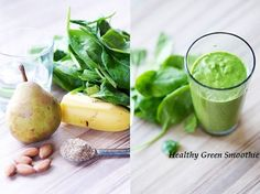 Green Smoothie - Healthy Drink