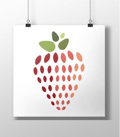 Strawburrrryyy #flatdesign #design #food #graphic #vector #illustration #illustrator #poster #etsy #graphicdesign #art #healthy #fruit #print #paleo #fit #strawberry #berry #foodie #artwork #flat #digitalart #designspiration #drawing #icon