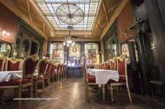 alón principal del restaurante Le Falstaff en la Rue Henri Maus 19