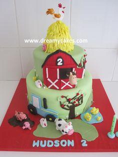 farm cake dreamycakes.com