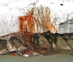 World's Strangest Natural Wonders: Blood Falls, Antarctica