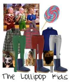"""The lollipop kids"" by brooktaylor21 on Polyvore featuring Atea Oceanie, R13, Lee, 7 For All Mankind, M Missoni and UGG Australia"