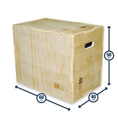 Plyometric Box Wood 3-in-1