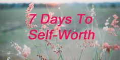 Free 7 day email series that will teach you how to finally find the place within where you know your own self-worth. Free Email, Believe In You, Knowing You, Great Gifts, Self, Neon Signs, Teaching, Day, Education