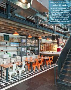 Bright.Bazaar: Store Tour: Jamie Oliver's Industrial Italian: