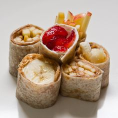breakfast sushi.