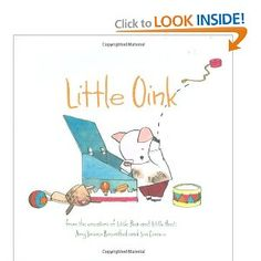 The little piglet that isn't allowed to clean up his room... piglets are supposed to be messy but he likes it clean! Genius book!