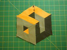 HOW TO MAKE 3-D TUMBLING BLOCKS