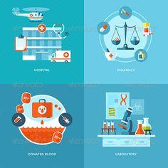 illustration healthcare icons - Pesquisa do Google
