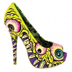 Iron Fist Shoes - I See You Platforms. #IF #IronFist    WANTTTTTTTT. Ultimate shoe lust or what?!