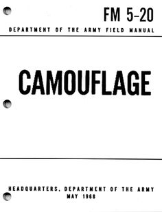 Camouflage - Free Digital Downloads that every prepper should have.