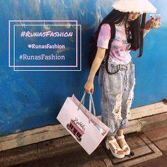 #RunasFashion ♡ Tシャツもパンツもリメイク ♡