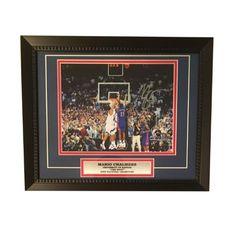Mario Chalmers Autographed Kansas Jayhawks THE SHOT Signed Framed 8x10  Basketball Photo 700d59e53