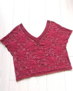 VK is the largest European social network with more than 100 million active users. Granny Squares, Summer Tops, Crochet Projects, Knit Crochet, Diy And Crafts, Knitting, Sweaters, Clothes, Instagram