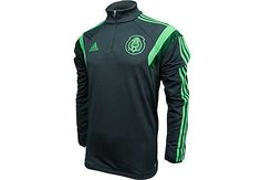 Grab your adidas Mexico Training Top Dark Shale with Green at SoccerPro. Mexico Soccer Jersey, Training Tops, Stay Warm, Soccer Jerseys, Adidas, Jackets, How To Wear, Clothes