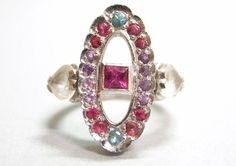 Jewel ring by ruiandaguri on Etsy, $900.00