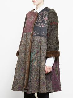 By Walid Antique Chinese Textile Coat - - Farfetch.com