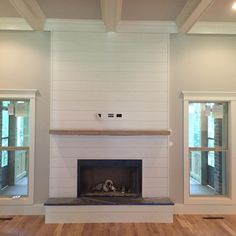 Great Free corner Fireplace Remodel Concepts 38 Inspiration For Fireplace Corner Ideas shiplap corner fireplace, corner fi Corner Fireplace Mantels, Fireplace Update, Shiplap Fireplace, Farmhouse Fireplace, Home Fireplace, Fireplace Remodel, Modern Fireplace, Fireplace Design, Fireplace Ideas