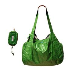 Cargo Bag (made of Tyvek) by Cheeky Green for The Good Kind of Baggage