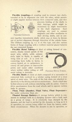 more@ - A dictionary of automobile terms by Clough, Albert L - Published 1913