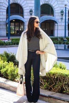 Britt + Whit| Britt styles a @cuyana cape!