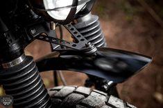 Macco Motors - The Dapper Vagabond Dominator Scrambler, Scrambler Custom, Scrambler Motorcycle, Honda Motorcycles, Cb350, Motorcycle Types, Suzuki Cafe Racer, Triumph Cafe Racer, Cafe Racer Bikes