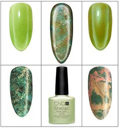 Try a fun green CND Shellac mani for St. Patrick's Day!