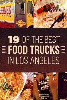 Disneyland California Fotos - 19 Of The Best Food Trucks In Los Angeles - Disneyland Pin Pacific Coast Highway, Los Angeles Food, Los Angeles Travel, Food Trucks Los Angeles, Los Angeles Vacation, Los Angeles Restaurants, California Food, California Travel, California Living